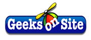 Logo - Geeks on Site - Waco, Tx - Computer Service & Repair