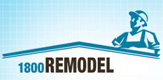 Logo - 1800Remodel Window Replacement - Glass & Window Contractors