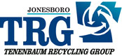 Logo - Go Green - Recycle At TRG! - Jonesboro, Ar - Scrap Metal Dealers