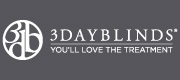Logo - 3 Day Blinds Free in-home consult - Blinds