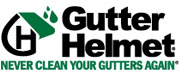Logo - Gutter Protection by Gutter Helmet - Gutter & Downspout Supplies