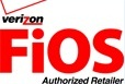 Logo - Verizon FiOS Authorized Retailer - FiOS TV