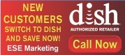 Logo - Dish Network - Authorized Retailer - Cable & Satellite TV