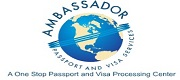 Logo - Ambassador Passport & Visa Services - Los Angeles Metro Area - Translation Services