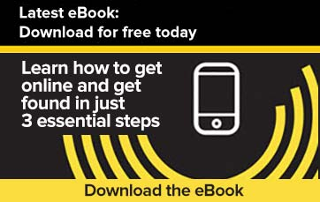 Check out our latest eBook: Learn How to Get Online and Get Found in Just 3 Essential Steps